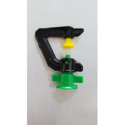 MICRO SPRINKLER HEAD YELLOW CONVEX 360 deg