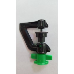 MICRO SPRINKLER HEAD SWIVELS 360 deg