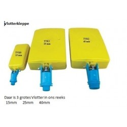 FLOAT VALVE YELLOW 15MM (TROGTEK)