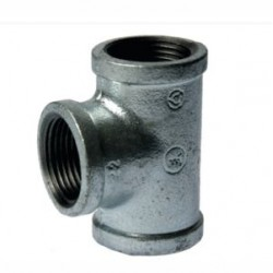 GALVANISED TEE 25MM