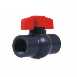 PVC BALL VALVE - BSP 100MM