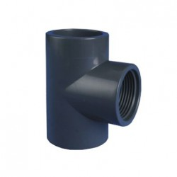 SOLVENT FEMALE TEE 50 X 40MM