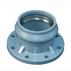 PVC MOULDED FLANGED ADAPTOR 110 X 100MM